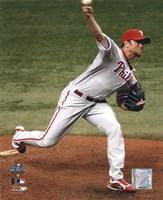 Brad Lidge Game one of the 2008 MLB World Series Fine-Art Print