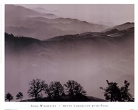 Misty Landscape With Pool Fine-Art Print
