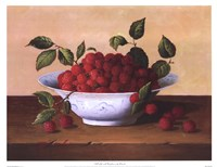 Still Life With Raspberries Fine-Art Print