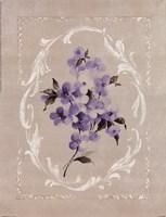 Framed Lilac I Fine-Art Print