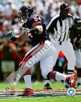 Brian Urlacher 2008 Action Fine-Art Print