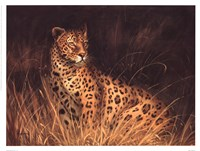 Spotted African Cat Fine-Art Print
