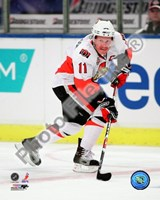 Daniel Alfredsson 2008-09 Away Action Fine-Art Print