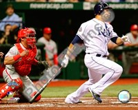 Carlos Pena Game two of the 2008 MLB World Series Fine-Art Print