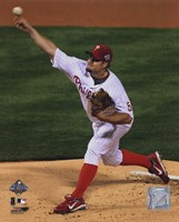 Joe Blanton Game four of the 2008 MLB World Series Fine-Art Print
