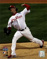Cole Hamels Game 5 of the 2008 World Series Fine-Art Print