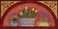 Tulips In Arch Fine-Art Print