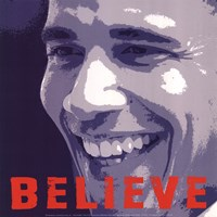 Barack Obama:  Believe Fine-Art Print