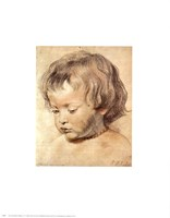 Head of a Boy Fine-Art Print