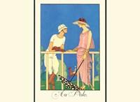 Au Polo Fine-Art Print