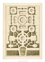 Garden Maze III Fine-Art Print