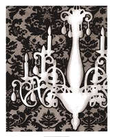 Patterned Chandelier I Fine-Art Print