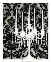 Patterned Candelabra I Fine-Art Print