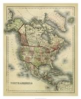Antique Map of North America Fine-Art Print