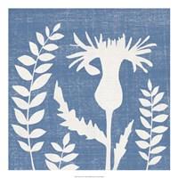 Blue Linen III Fine-Art Print