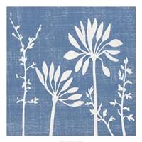 Blue Linen IV Fine-Art Print
