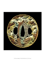 Asian Medallion I Fine-Art Print