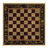 Antique Gameboard I Fine-Art Print
