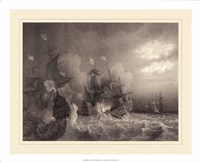 Ships at Sea I Fine-Art Print