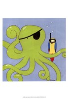 Captain Calamari Fine-Art Print