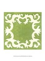 Petite Suzani in Green Fine-Art Print