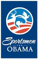 Barack Obama - (Sportsmen for Obama) Campaign Poster Wall Poster