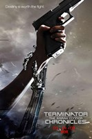 Terminator: The Sarah Connor Chronicles - style BK Wall Poster