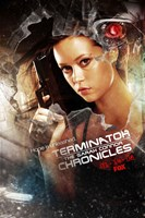 Terminator: The Sarah Connor Chronicles - style BA Wall Poster