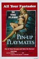 Pin-up Playmates, c.1972 Wall Poster