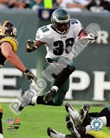 Brian Westbrook 2008 Action Fine-Art Print