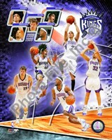 2008-09 Sacramento Kings Team Composite Fine-Art Print