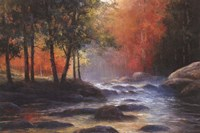 Rocks and Stream Fine-Art Print