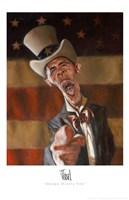 Barack Obama - Obama Wants You Fine-Art Print