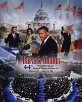 2009 Barack Obama Inaugural Portrait Plus Fine-Art Print