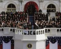 2009 Barack Obama Inaugural Address Fine-Art Print