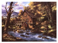 Rocky Creek Mill Fine-Art Print