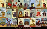Alphabet Zoo Fine-Art Print