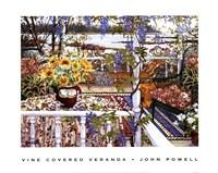 Vine Covered Veranda Fine-Art Print