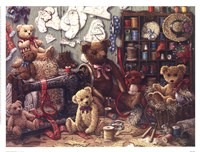 Teddy Bear Workshoppe Fine-Art Print