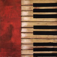 Piano Keys Fine-Art Print