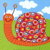 Sita The Snail Fine-Art Print