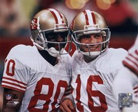 Jerry Rice / Joe Montana - Group Shot  (#1) Fine-Art Print