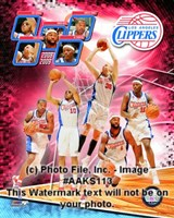 2008-09 Los Angeles Clippers Team Composite Fine-Art Print
