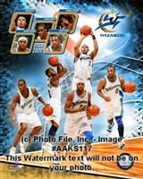 2008-09 Washington Wizards Team Composite Fine-Art Print