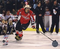 Alex Ovechkin 2008-09 NHL All-Star Game Action Fine-Art Print