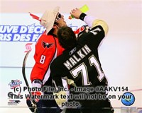 Alex Ovechkin & Evgeni Malkin 2008-09 NHL All-Star Game Action Fine-Art Print