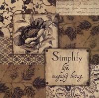 Simplify Fine-Art Print