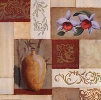 Mandarin Collage I Fine-Art Print
