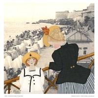 Un dimanche a St-Malo Fine-Art Print