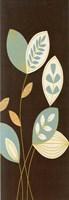 Blue Flutter I Gold Fine-Art Print